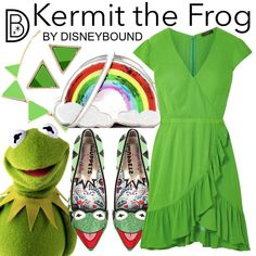 Welcome to the OFFICIAL website! DisneyBound is meant to be inspiration for you to pull together your own outfits which work for your body and wallet whether from your closet or local mall. As to Disney artwork/properties: ©Disney Movie Inspired Outfits, Disney Inspired, Disney Bound Outfits, Disney Artwork, Kermit The Frog, Fandom Fashion, Disney Facts, Casual Cosplay, Next Clothes