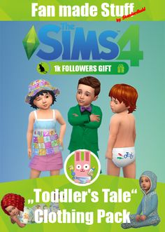 "[Standardheld] • ""Toddler's Tale"" Clothing Pack * ~ * ~ * 1000..."