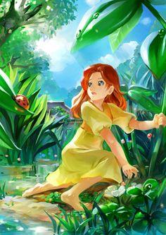 Arrietty, studio ghibli  ☆☆ #anime ☆☆