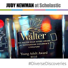 The inaugural Walter Dean Myers Awards were given to three important young adult novels: ALL AMERICAN BOYS, X: A NOVEL, and ENCHANTED AIR. You'll find a recap of the event on judynewmanatscholastic.com.  #DiverseDiscoveries #JNBlog #WNDB