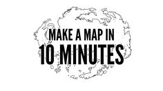 How to Easily Make a Map in 10 Minutes with Photoshop