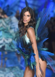 Model and New Victoria's Secret Angel Sara Sampaio from Portugal walks the runway during the 2015 Victoria's Secret Fashion Show at Lexington Avenue Armory on November 10, 2015 in New York City.