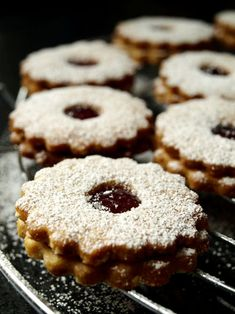Gâteau de Noël à la confiture - Linzer Augen
