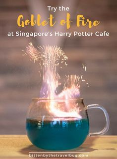 Making Magic at Singapore's Harry Potter Cafe, Platform 1094 - Bitten by the Travel Bug Come cast a spell, try some butterbeer, and maybe see an owl or two at Platform Singapore's Harry Potter Cafe! Singapore Travel Tips, Singapore Itinerary, Singapore Trip, Singapore Sling, Wanderlust Travel, Asia Travel, Croatia Travel, Hawaii Travel, Italy Travel