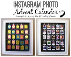 Love the idea of a photo advent calendar, possibly a good way to use the photo challenge photos from the previous year and maybe inspire other photos. Days Till Christmas, Christmas Holidays, Christmas Crafts, Christmas Decorations, Christmas Thoughts, Xmas, Christmas Ideas, Holiday Decor, Hp Sprocket Printer