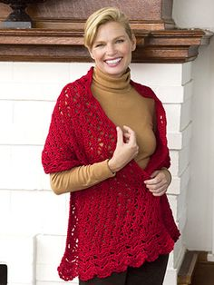 Beautiful Crocheted Shawl