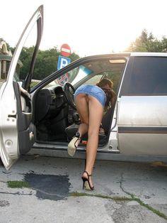 High Heels Nylons & Cars