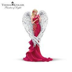 Thomas Kinkade Angel Figurine Collection: Heartfelt Promises