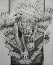 Znalezione obrazy dla zapytania pitbull sleeve tattoos