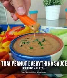 Thai Peanut Everything Sauce {Low FODMAP}