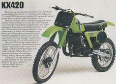 Kawasaki KX420