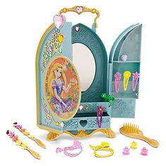 Disney Rapunzel Tangled Hair Beauty Styling Case * Visit the image link more details.