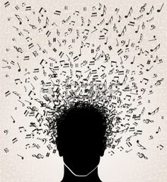Illustration about Human head with music notes coming out, white background. Illustration of concept, icon, clef - 32692770 Music Notes Art, Art Music, Music Images, Art Images, Serpentina, Free Songs, Music Drawings, Music Backgrounds, Human Head
