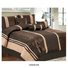 7piece set luxury design bedding collection at 62 savings off retail