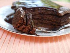 Dukan brownie pancakes. Yes, I am having a chocolate craving!