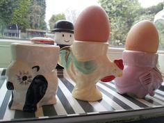 Vintage egg cups from eyecandy vintage