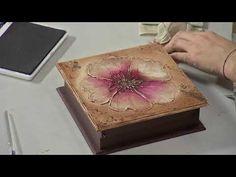 Sección Espazio Ideal del Programa El Yipao, 27 de Noviembre - YouTube Decoupage, Decorative Boxes, Diy, Youtube, Mason Jar Decorating, Things To Make, November, Wood, Crafts