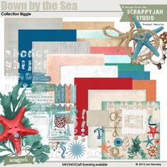 Down By the Sea Collection Biggie by Jan Ransley