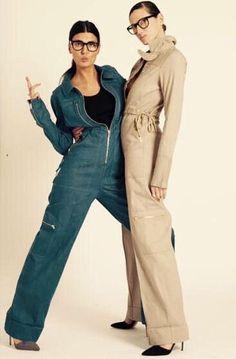 Giovanna Battaglia And Jenna Lyons