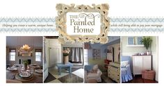 This website is full of really amazing budget friendly decorating ideas for the home.