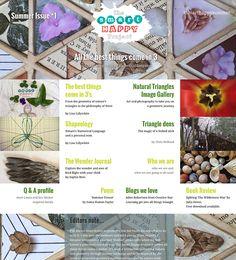 Smart Happy Project magazine  smarthappysummer.liquidblox.com Happy Summer, Triangle, Posts, Magazine, Projects, Image, Log Projects, Messages, Blue Prints