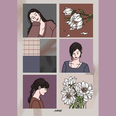 Korean Illustration, Character Illustration, Illustration Art, Cartoon Art Styles, Cute Art Styles, Lomo Card, Postcard Wall, Cute Couple Comics, Journal Stickers