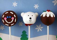 Cake Pops Ornaments by Bakerella, via Flickr