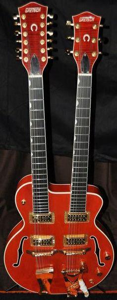 Gretsch Double Neck Guitar
