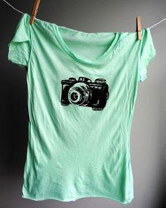 Vintage Camera Etsy T-shirt - #Photography #Tshirt #Camera #Design #Photographer