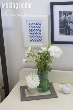 """""""Why I Bother Decorating A Rental Home"""" Something about this I just love. Looking forward to reading the blog"""