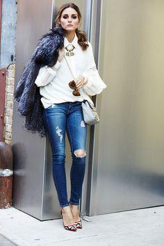 ¿NADA QUE PONERTE? Es el último viernes del año y toca celebrarlo con un look relajado pero lleno de detalles sofisticados, como éste de #OliviaPalermo, ¿salimos?