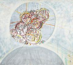 Reino Hietanen: Suuri kehrä, 1969, öljy kankaalle, 160x180 cm - Bukowskis
