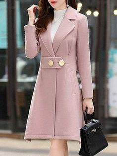 Stylish Work Outfits, Stylish Dresses, Classy Outfits, Fashion Dresses, Faux Fur Hooded Coat, Long Puffer Coat, Winter Coats Women, Coats For Women, Clothes For Women