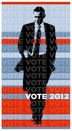 Poster from the Georgia Democrats' online store http://gademstore.com/product/limited-edition-barack-obama-2012-print/ via Rise and Shine « The Obama Diary
