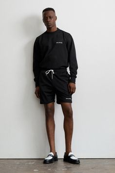 Created in Aimé Leon Dore is a fashion and lifestyle brand based out of New York City. Cute Swag Outfits, Short Outfits, Casual Outfits, Aime Leon Dore, Swag Boys, Thing 1, Estilo Retro, Work Shirts, Swagg