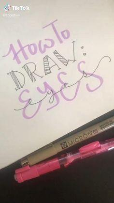 Art Drawings Sketches Simple, Pencil Art Drawings, Drawing Tips, Drawing Expressions, Digital Art Tutorial, Cartoon Art Styles, Art Sketchbook, Art Tutorials, Diy Canvas Art