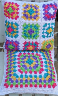 Colourful Cushions ...oma's kussens uit onze kindertijd