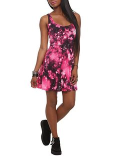 Pink Galaxy Dress | Hot Topic