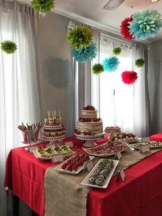Décoration anniversaire adulte- idées sur le buffet et le thème ...