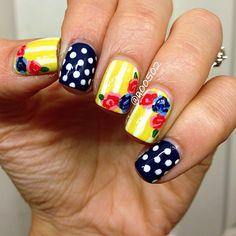 Instagram photo by a00502 #nail #nails #nailart