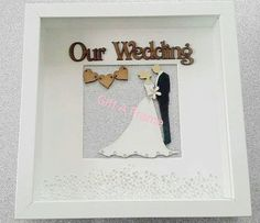 Personalised Frames, Handmade Frames, Handmade Gifts, Bride And Groom Gifts, Canvas Quotes, Personalized Wedding, Wedding Bride, Unique Jewelry, Crafts