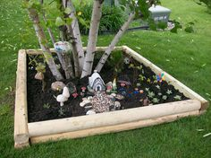❤️LOVE! I want a space this big for my fairy or gnome garden!