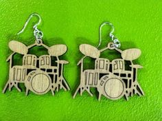 Drum earrings for the musician in you...$16.00