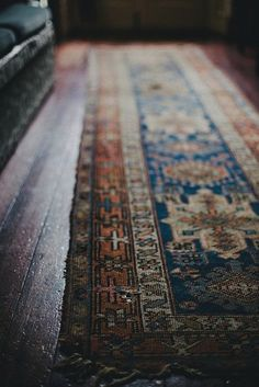 oriental Rug--- modern boho bohemian mid-century wood tones interior design decor - eclectic mod vintage earthy home Persian Carpet, Persian Rug, Local Milk, Texas Hill Country, Magic Carpet, Modern Retro, Midcentury Modern, Carpet Runner, Runner Rugs