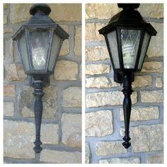 Antique outside light fixtures light fixtures pinterest painting outdoor light fixtures mozeypictures Images