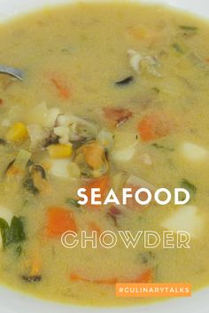 #Easydinner for winter days - #Seafood Chowder with #Culinary Talks at https://goo.gl/6AqQnr
