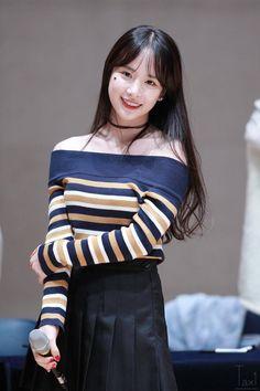 WJSN - SeolA #설아 (Kim Hyunjung #김현정) fanmeet 160925
