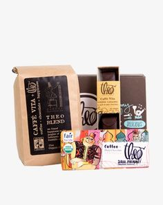 Theo + Caffe Vita Gift Set - wow, I would love to receive this!