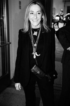 Carlyne Cerf De Dudzeele @ In Vogue: The Editor's Eye Premiere at the Metropolitan Museum of Art in NYC