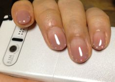 Nail art: mauve gradient with dotted tips    =========================== nail art | nail polish | nails | nail design | manicure